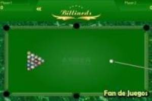 Straight pool billard