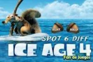 Ice Age 4: Differences