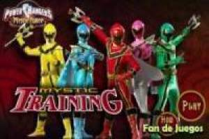 Juego Power rangers mystic training Gratis