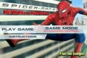 Spiderman letreado