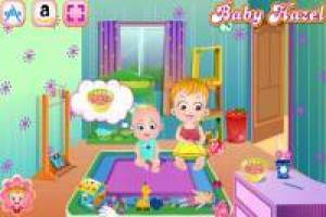 Baby Hazel: Take care of your little brother