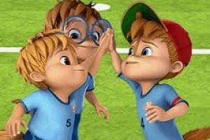 Alvin and the Chipmunks Football Free Kick