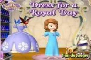 Sofia: dress for a royal day