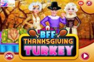 Frozen Princesses: Thanksgiving feiern