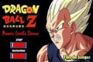 Juego Dragon ball z power levels Gratis