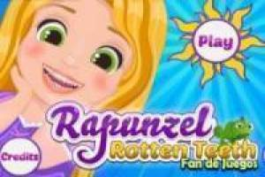 Rapunzel baby at the dentist