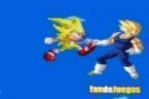 Juego Sonic vs vegeta: movie Gratis