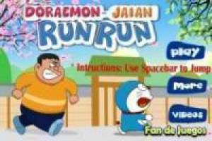 Doraemon vs Gigante