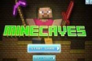 Бесплатно Minecraft Minecaves Играть