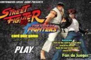 Street Fighter vs King of Fighters memória