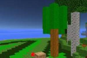 Construir com blocos estilo Minecraft