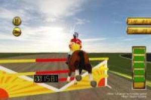 Horse Racing: Fence Jump