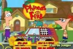 Phineas and ferb race