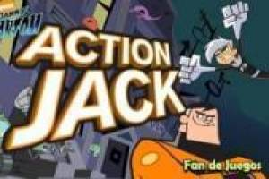 Free Danny phantom action jack Game