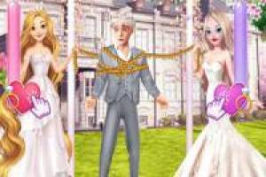 Rapunzel and Elsa: Drama at the Wedding