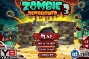 Zombie Demolisher 3: Corta la cuerda