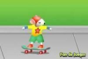 Stuart Little Skateboarding
