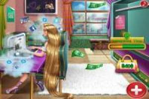 Rapunzel: Compras no shopping