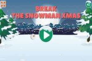 Break the snowmen