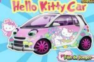 Tunen van de auto hello kitty