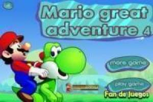 Mario and yoshie: Great adventure