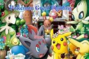 Grand combat pokemon