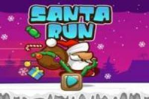 Santa Run: Distribuindo presentes