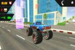 Stelle den Monster Truck ab