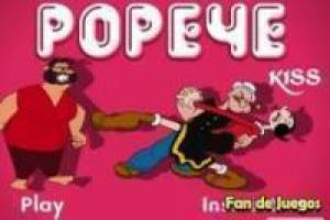 Free Popeye and olivia Game