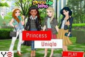 Four princesses in the city