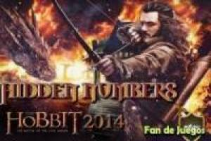 The hobbit, find hidden numbers