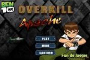 Free Ben 10 overkill apache Game