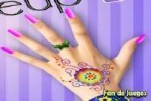 Free Decorate your hands Game