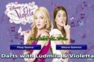Violetta and Ludmila at the target