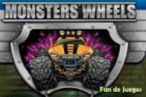 Carreras monster wheels