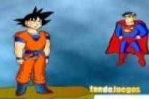 Goku vs Superman, animation