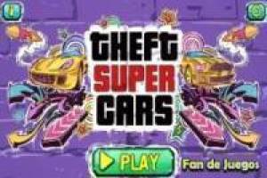 Бесплатно Theft super cars Играть