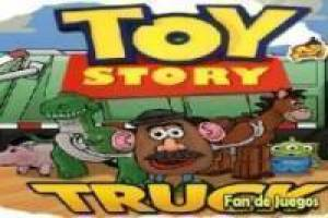 Toy story transporta juguetes