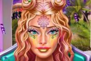 Barbie: Coachella Makeup