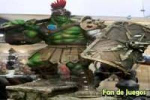Planet hulk, gladiators