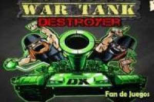 Free War tank destroyer Game