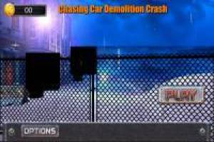Chasing Car Demolition Crash