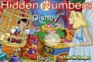 Disney, Hidden Numbers
