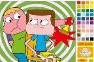 Pintar Clarence y Jeff