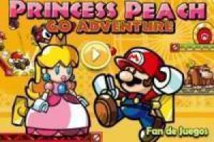Free Princess peach adventures Game