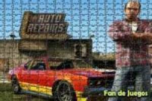Grand theft auto v. Trevor jigsaw