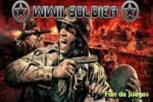 The soldier wii