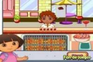 Keuken met Dora the Explorer