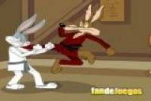 Karate: Bugs bunny vs coyote