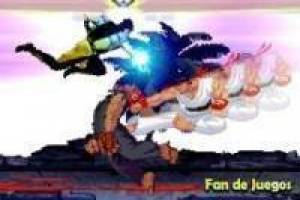 Animación: Street Fighter vs Mortal Kombat